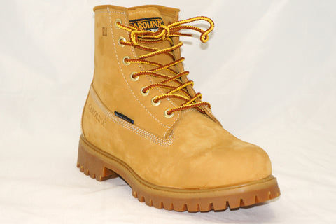 "Carolina- 6"" Waterproof Workboot Wheat- CA3045-S19,S21"
