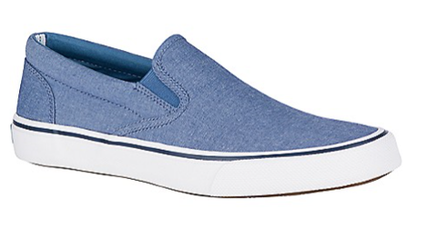 Sperry-Men's-Striper II Slip On Oxford Shirt-Blue, STS19256-Grey, STS22403-Navy, STS22405-S19-S21