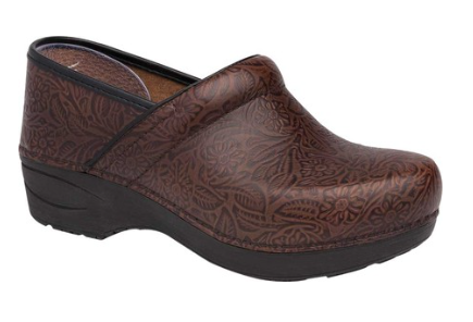 Dansko-XP 2.0 Floral Tooled-(3950-530200)-Brown-F18