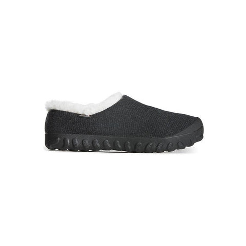 Bogs=Women's- B Moc Slip On Wool - Black ,72107-F18
