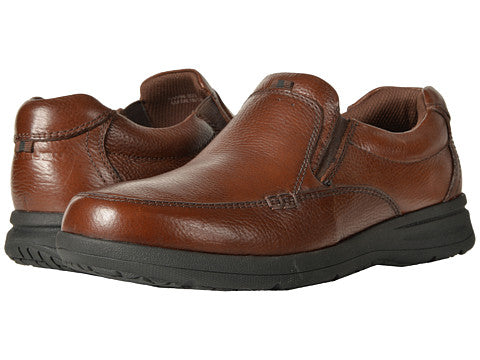 Nunn Bush- Cam Moc Toe SlipOn -84696- Cognac ,Brown, Black-S19,F19,F20