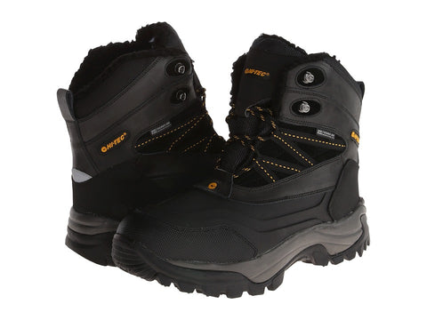 Hi-Tec - Snow Peak 200 Waterproof Black/Gold, Tan/Black