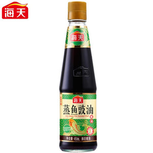 (BULK) (HADAY) STEAMED FISH SOY SAUCE 海天蒸魚豉油, 450mlx12