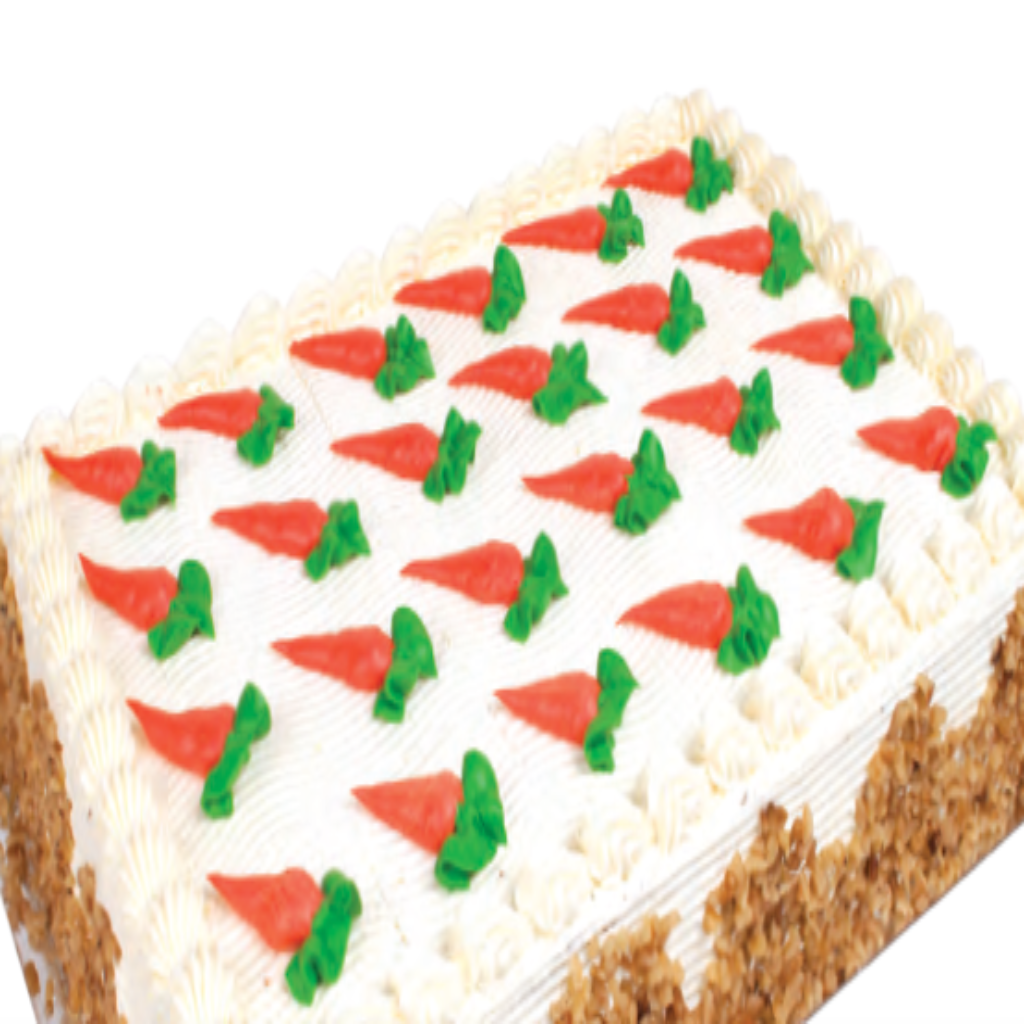 (BULK) (KING'S PASTRY) CARROT CREAM CHEESE SLAB CAKE, 1box