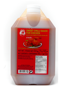 (BULK) (COCK BRAND) SWEET & HOT CHILLI SAUCE FOR CHICKEN 雞牌甜辣雞醬, 4.5Lx3