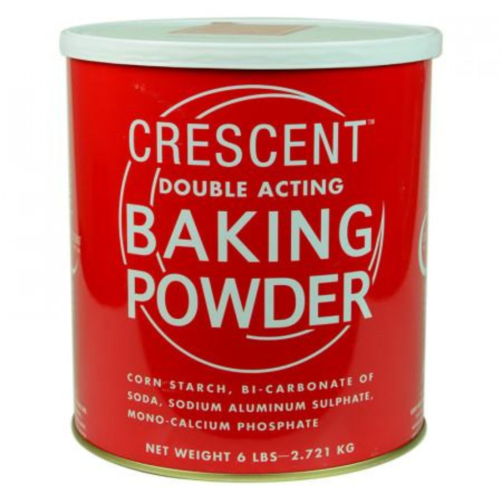 (BULK) (CRESCENT) BAKING POWDER 月老發粉, 6lbx6