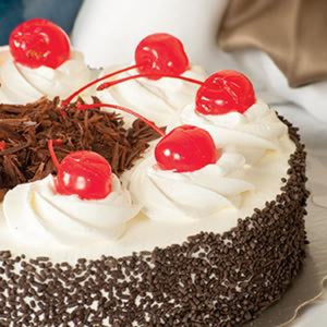 (BULK) (KING'S PASTRY) BLACK FOREST CREAM CAKE, 2pcx1