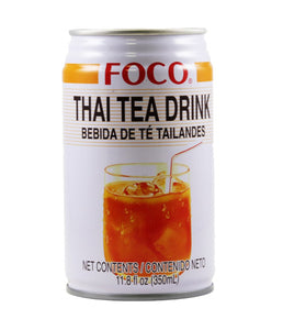 (BULK)(FOCO) THAI TEA DRINK 泰式奶茶, 350mlx24