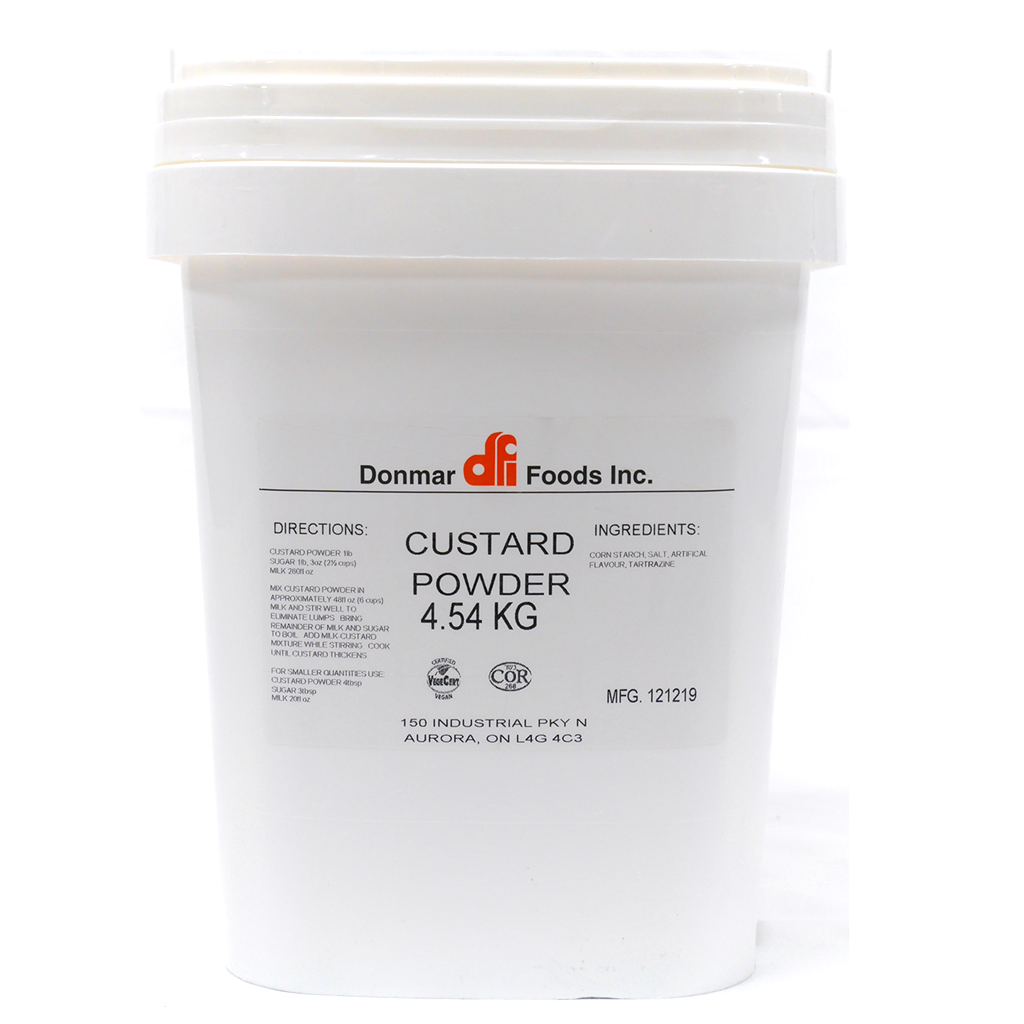 (BULK) (DONMAR) VANILLA CUSTARD POWDER 吉氏粉, 4.54kgx1