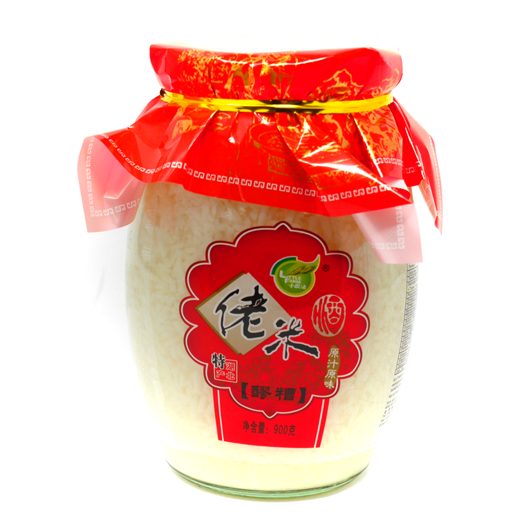 (BULK) (LITTLE FARM)  HU-BEI WINE FLAVOR RICE SOUP BASE 小農尖湖北佬米酒, 900gx6
