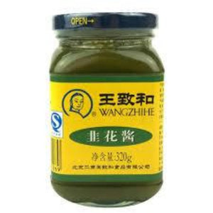 (WANG-ZHI-HE) LEEK FLOWERS PASTE 王致和韭菜花醬, 320gx24