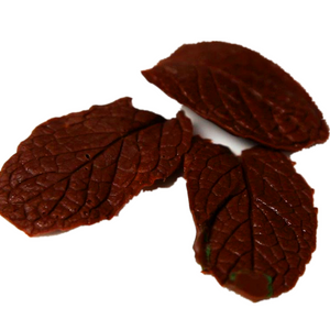CHOCOLATE 6CM LEAVES  朱古力葉, 550pcx1