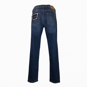 JEANS STRETCH DENIM SCURO
