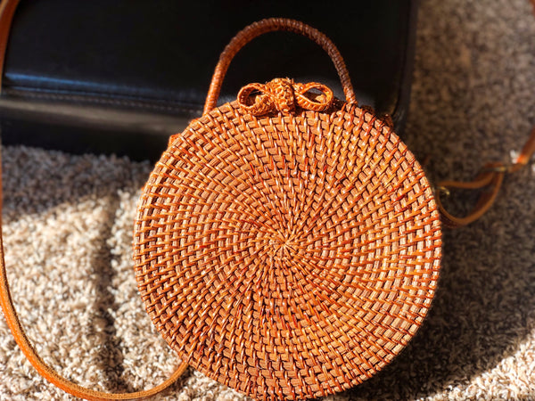 Round 5 Wicker Bag
