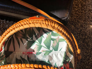 Round 3 Wicker Bag