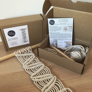 DIY Mini Macrame Wall Hanging Kit