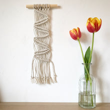 Load image into Gallery viewer, DIY Mini Macrame Wall Hanging Kit