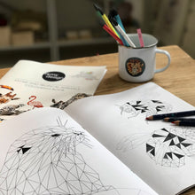 Load image into Gallery viewer, British Wildlife and Animals Colouring Book