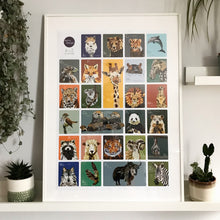 Load image into Gallery viewer, A to Z Animal Print