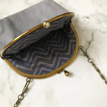 Load image into Gallery viewer, Grey Leather Purse