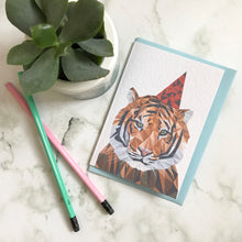 Load image into Gallery viewer, Party Tiger Card