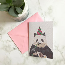 Load image into Gallery viewer, Party Panda Card