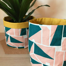 Load image into Gallery viewer, Retro Geometric Pot Pouch