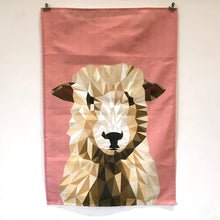 Load image into Gallery viewer, Sheep Tea Towel