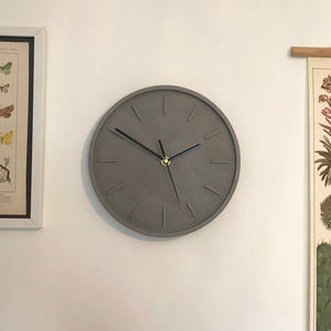 Slate Grey Wall Clock