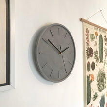 Load image into Gallery viewer, Slate Grey Wall Clock