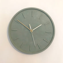 Load image into Gallery viewer, Sage Green Wall Clock