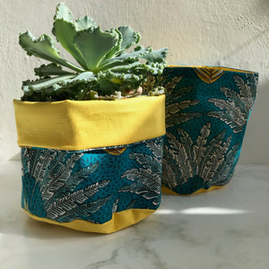 Vintage Fan Pot Pouch