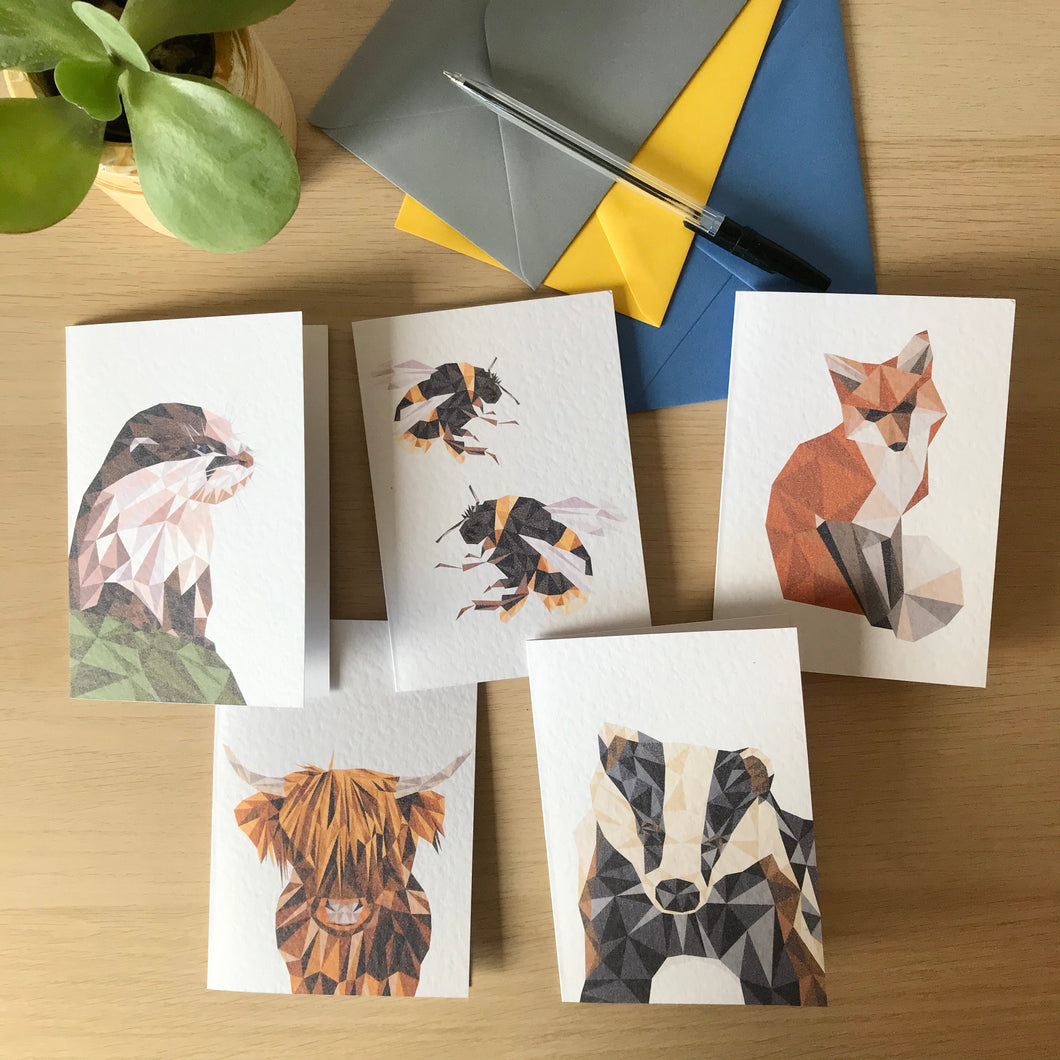 British Wildlife Card Pack
