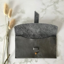 Load image into Gallery viewer, Grey Leather Sleeve