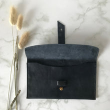 Load image into Gallery viewer, Dark Navy Leather Sleeve