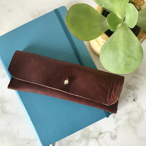 Burgundy Leather Case