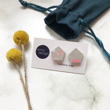 Load image into Gallery viewer, Terrazzo Grey No 1 Earrings