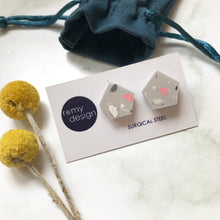 Load image into Gallery viewer, Terrazzo Grey No 2 Earrings