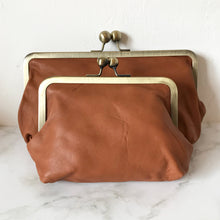 Load image into Gallery viewer, Tan Leather Large Purse