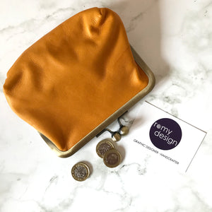 Clementine Leather Large Purse