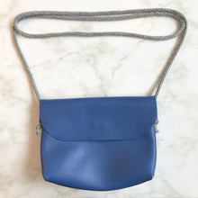 Load image into Gallery viewer, Blue Leather Bag