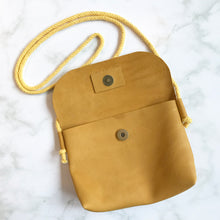 Load image into Gallery viewer, Yellow Leather Bag