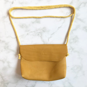 Yellow Leather Bag