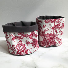 Load image into Gallery viewer, Red Fauna Pot Pouch