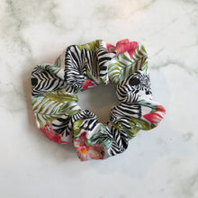 Load image into Gallery viewer, Tropical Hair Scrunchie