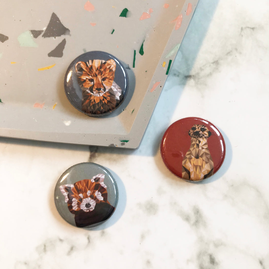 Cub Animal Badges