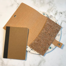 Load image into Gallery viewer, Silver Cork Notebook Cover