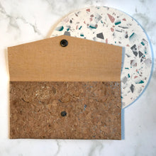 Load image into Gallery viewer, Silver Cork Slim Wallet
