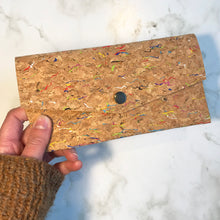 Load image into Gallery viewer, Rainbow Cork Slim Wallet
