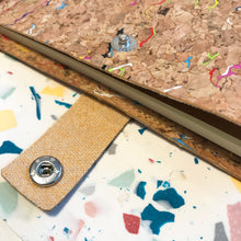 Load image into Gallery viewer, Rainbow Cork Notebook Cover